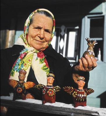 Мастер жбанниковской игрушки Трофимова