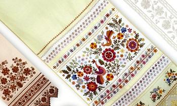 Нижегородская вышивка. Полотенца 8