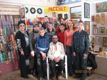 "Центр ""РАССВЕТ"" на фестивале ""Галерея ремесел 2010"" г. Нижний Новгород"