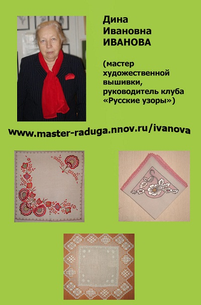 ИВАНОВА Дина Ивановна