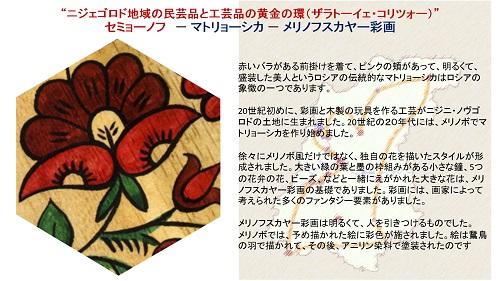 ПРЕЗЕНТАЦИЯ «Народные художественные промыслы Нижегородской области» на японском языке -15