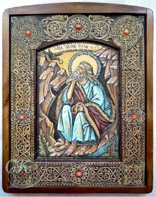 Икона  Св.Пророк Илия.