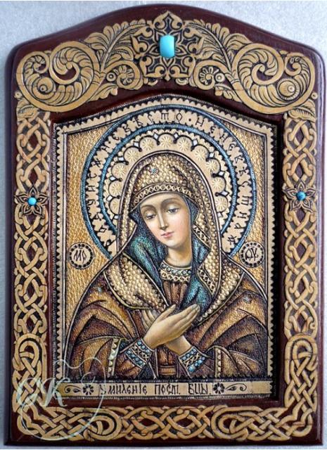 Икона Умиление Прсв.Богородицы.