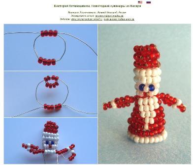 МК Новогодние сувениры. Декабрь 2009.
