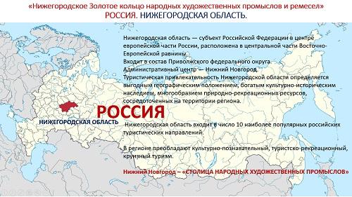 2. ПРЕЗЕНТАЦИЯ «Народные художественные промыслы Нижегородской области» на русском языке