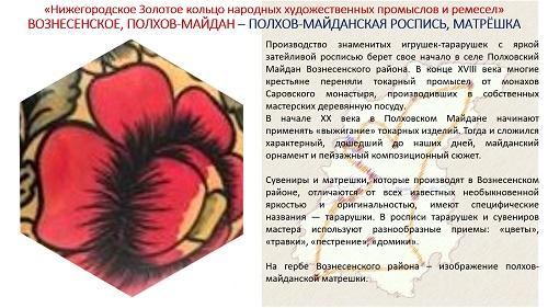 21. ПРЕЗЕНТАЦИЯ «Народные художественные промыслы Нижегородской области» на русском языке
