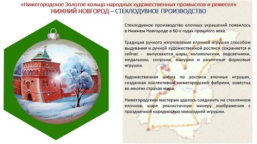 5. ПРЕЗЕНТАЦИЯ «Народные художественные промыслы Нижегородской области» на русском языке